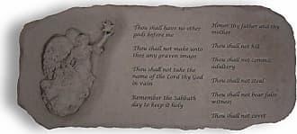 Kay Berry Outdoor Kay Berry The Ten Commandments Garden Bench - 29 in. Cast Stone - 36920
