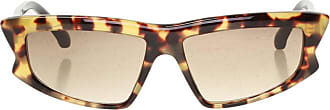Philipp Plein Logo Sunglasses Womens Brown