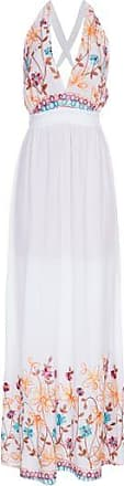 Lebôh Vestido Longo Frente Unica Lebôh - Branco