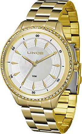 Lince Relógio Lince Feminino Ref: Lrg4427l B1kx Casual Dourado