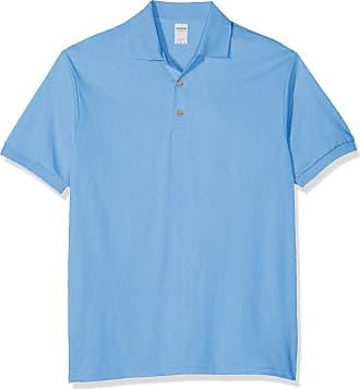 ac824016 Gildan Mens DryBlend Adult Jersey Polo Shirt (Carolina Blue), X-Large