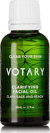 Votary Clarifying Facial Oil - Clary Sage And Peach, 30ml - Colorless
