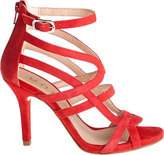 Unisa sandali tacco alto, 37 / rosso