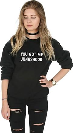 Sanfran Clothing Sanfran - You Got Me Jungshook Kpop Fangirl Jungkook Jumper Sweater - Extra Large/Black