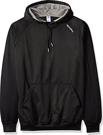 nwt Mens Heathered Grey Big /& Tall Russell Poly Fleece 1//4 Zip Pullover