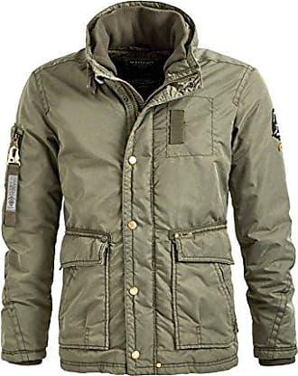 khujo Herren Thor Vintage Guardian Jacke: : Bekleidung
