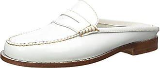 G.H. Bass & Co. Womens Wynn Mule, White, 9.5 M US