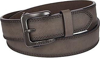 Dickies Mens Perfect Adjustable Click to Fit Ratchet Belt, Brown, Extra Large (44-46)