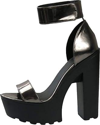 OCHENTA womens O1109-03 Peep Toe Size: 8 UK