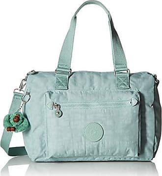Kipling Lyanne Crossbody Bag, Removable, Adjustable Straps, Zip Closure, fern green
