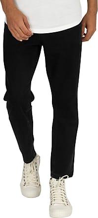 Religion Mens Kick Jeans, Black, 34W x 32L