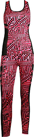 MySocks Womens Sportswear Leggings and Top matching Set Pink Square