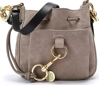 See By Chloé Sac Tony PM Cuir Motty Grey