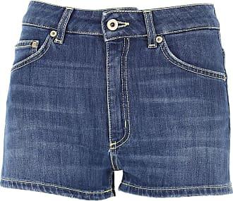 Dondup Shorts for Women On Sale, Denim Blue, Cotton, 2019, 26 27 28