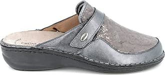 GrÜnland Slippers Woman DARA ce0664 Anthracite Grey Size: 8.5 UK