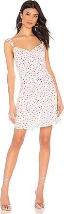 BB Dakota Stars Align Dress in White