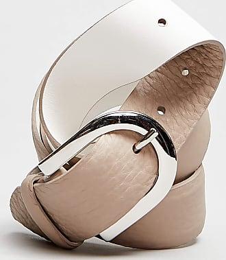 Rabaini Orciani - Cintura Soft Pelle - Conchiglia