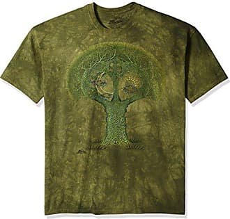 The Mountain Celtic Roots Adult T-Shirt, Green, 4XL