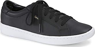 Keds Womens Ace Leather Fashion Sneaker, Black 9.5 M US