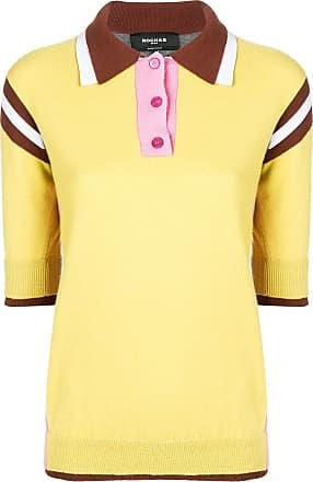 Rochas Camisa polo color block - Amarelo