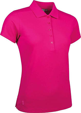 Glenmuir Ladies LSP2540 Performance Pique Polo Shirt Magenta XL