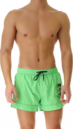 f37a88e430 Diesel Swim Shorts Trunks for Men On Sale in Outlet, Absinthe Green,  polyester,