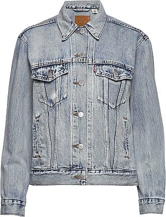 Till dam från Levis, en vit jeansjacka.