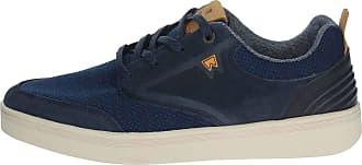 Wrangler Micky Mens Navy Lace Up Casual Shoe - Size 9.5 UK - Blue