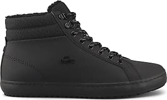 Lacoste Straightset Thermo 419 2 Mens Black Boots-UK 6 / EU 39.5
