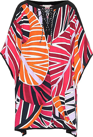 Emilio Pucci Printed cotton-blend kaftan