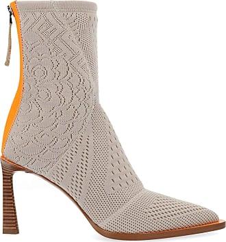 Fendi Fashion Womens 8T6983A8T7F18DT Beige Ankle Boots | Autumn-Winter 19
