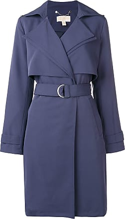 Michael Michael Kors belted trench coat - Blue