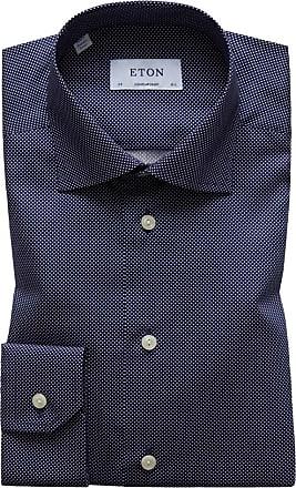 Eton Oberhemd, Contemporary Fit von Eton in Marine für Herren