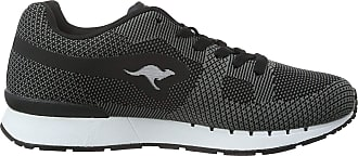 Kangaroos Unisex Adults Coil R1-Woven Low-Top Sneakers Black Size: 6.5 UK (40 EU)