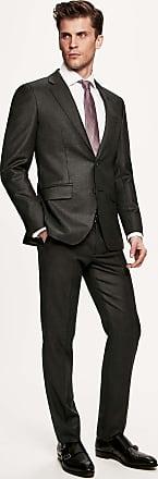 Hackett Mens Mayfair Slim Fit Birdseye Suit | Size 44Regular | Grey
