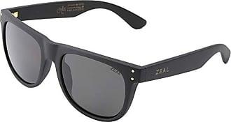 Zeal Optics Ace (Black Gold w / Dark Grey Polarized Lens) Athletic Performance Sport Sunglasses