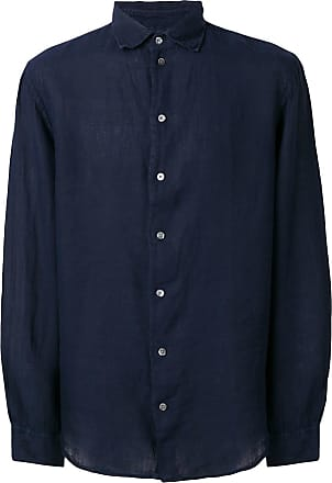 Emporio Armani casual button up shirt - Blue