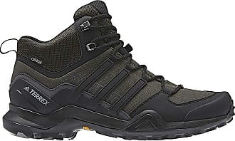 db724df84d252 adidas Mens Terrex Swift R2 Mid GTX Shoe - 10.5 - Night Cargo   Black