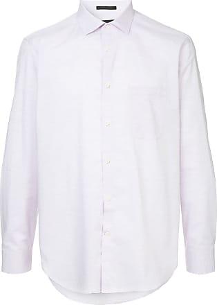 Durban Camisa lisa mangas longas - Rosa
