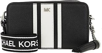 Michael Kors Small Camera Bag Black/Optic White Umhängetasche schwarz