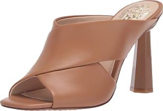 Vince Camuto Womens Averessa High Heel Sandal Mule, Spiced Sand, 6.5 UK