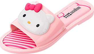 Melissa Chinelo Melissa Slipper + Hello Kitty Ad Rosa/Branco