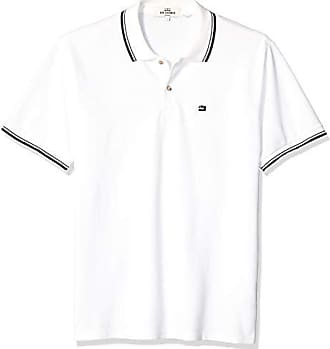 Ben Sherman Mens Romford Polo Shirt, Bright White, Small