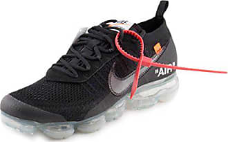 Nike Air Vapormax x Off White Black 2.0 - Black Clear-Total Orange Trainer 8c8f77c026