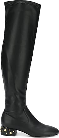 64bb7af2295 See By Chloé studded heel over-the-knee boots - Black