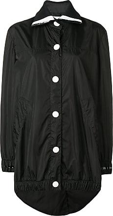 No Ka'Oi oversized button sports parka - Black