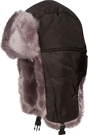 e92e04b25c3902 Sakkas 1769 - Martin Adjustable Casual Aviator Ushanka Trapper Hat Faux Fur  Lined - Black -