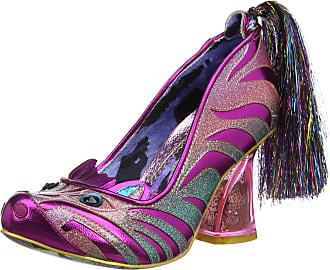 Irregular Choice Womens Zevra Closed Toe Heels, Pink (Pink B), 3.5 (36 EU)