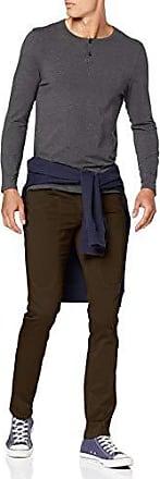 JECKERSON 5Pkts Patch Slim Jeans Uomo Marrone 8103 Marrone Taglia Produttore:35 48