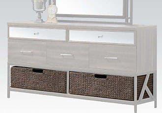 ACME 20956 Adrianna Basket for Dresser (Set of 2), Walnut